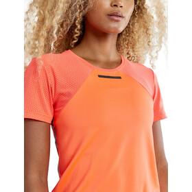 Craft Vent T-shirt à maille Femme, shock